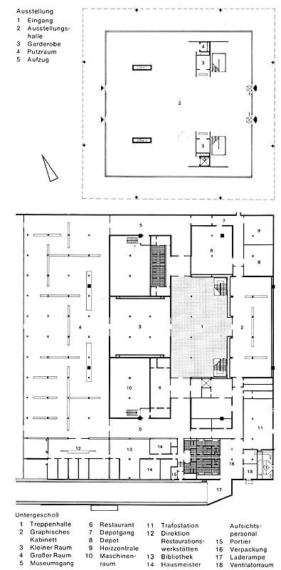 Neue Nationalgalerie New National Gallery 1968 Mies Van Der Rohe