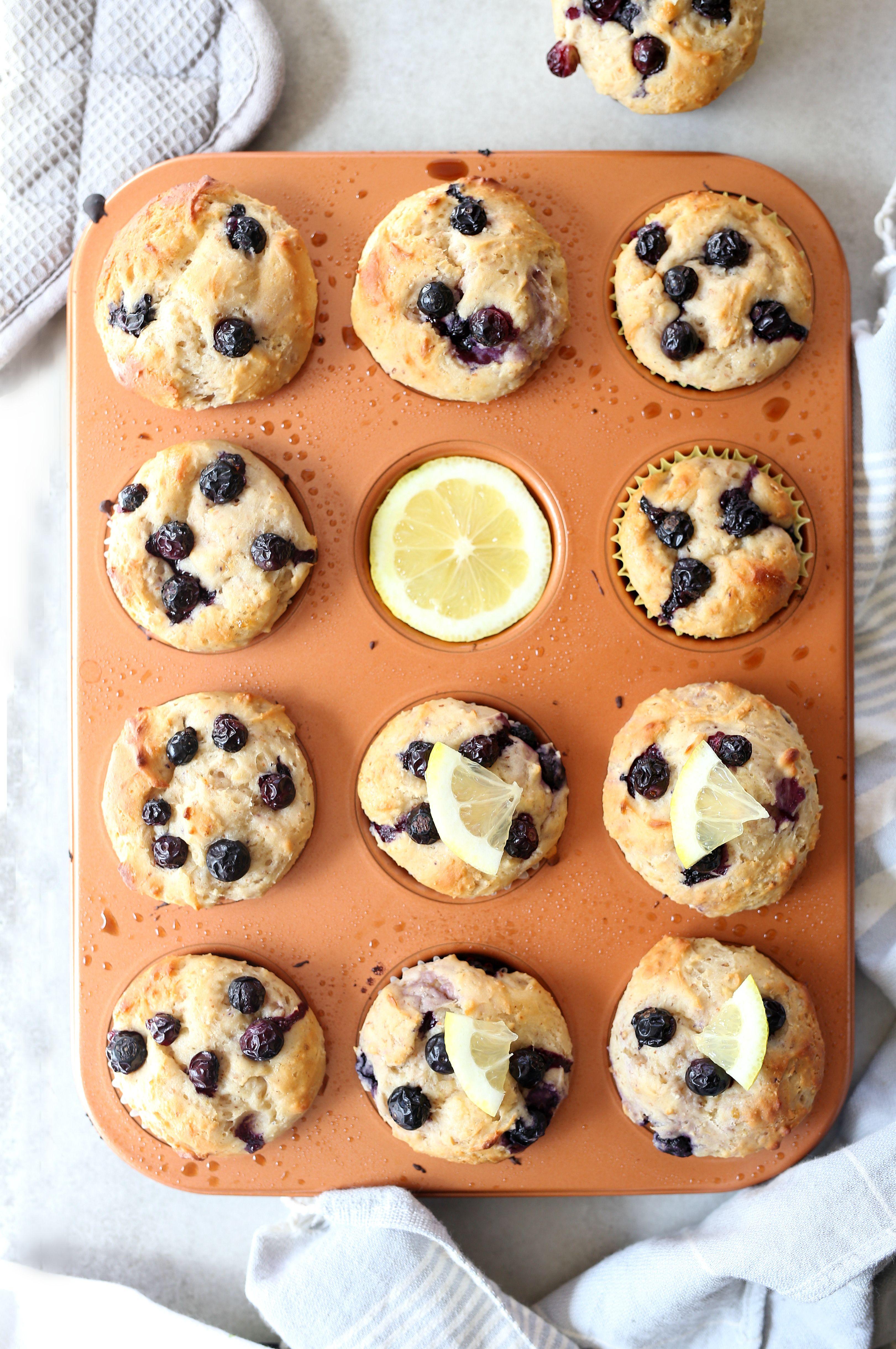 Blueberry lemon yogurt muffins recipe friands recipe