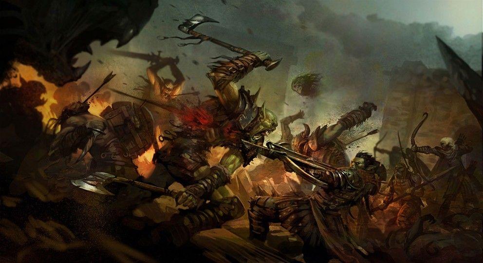 20 sunning fantasy drawings that illustrate epic battles