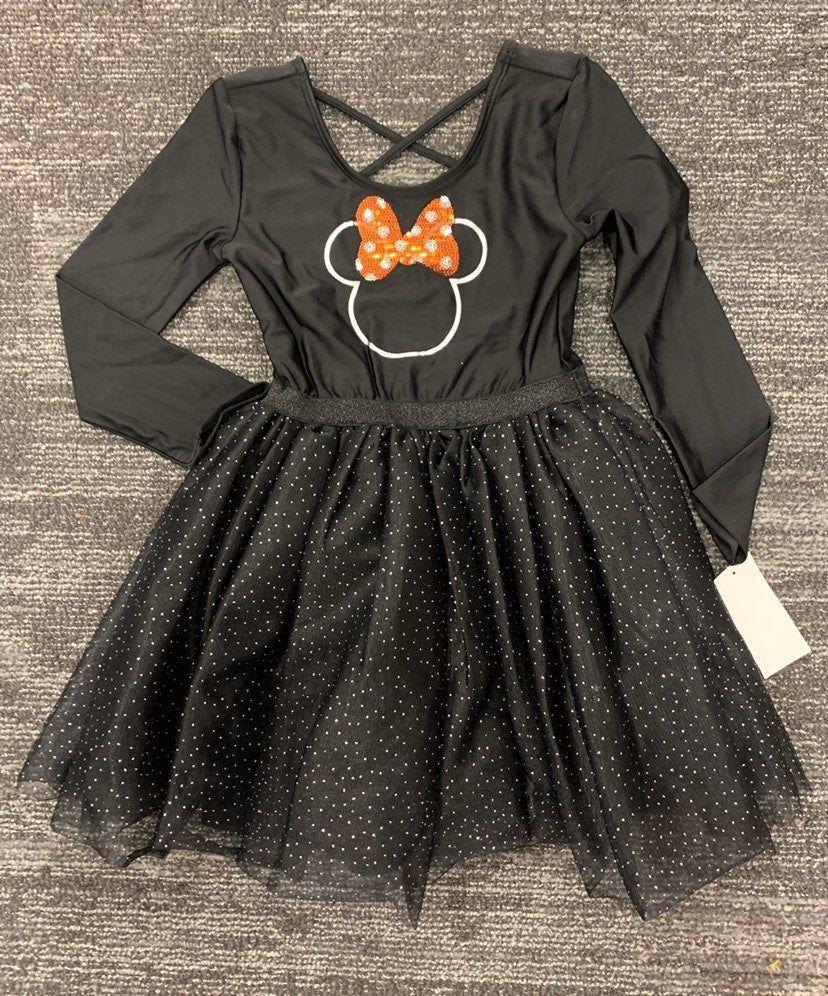 Brand New With Tags Minnie Mouse Dress Size 5t Dance Leotards Black Leotard Dress Dresses [ 996 x 828 Pixel ]