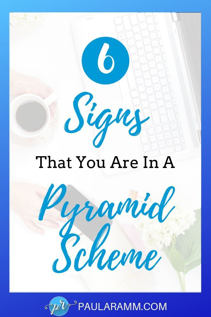 6 Red Flags To Watch Out For When Considering A Direct Sales Business Could you be in a pyramid scheme Are you considering joining a direct sales business but not sure if...