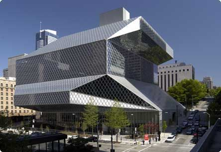 Pix Call Interesting Cool Buildings And Structures Pix O Plenty Seattle Library Central Library Seattle Central Library