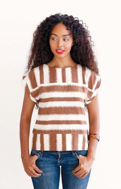 Boxy Shirt sewing tutorial | Kleidung | Pinterest | Nähen ...
