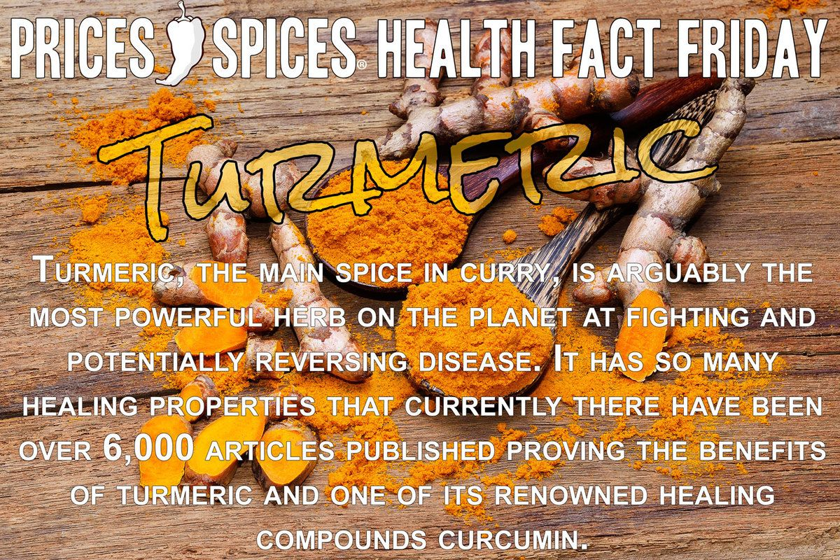 Turmeric, the main spice in curry, is arguably the most powerful herb on the planet at fighting and potentially reversing disease. It has so many healing properties that currently there have been over 6,000 articles published proving the benefits of turmeric and one of its renowned healing compounds curcumin.