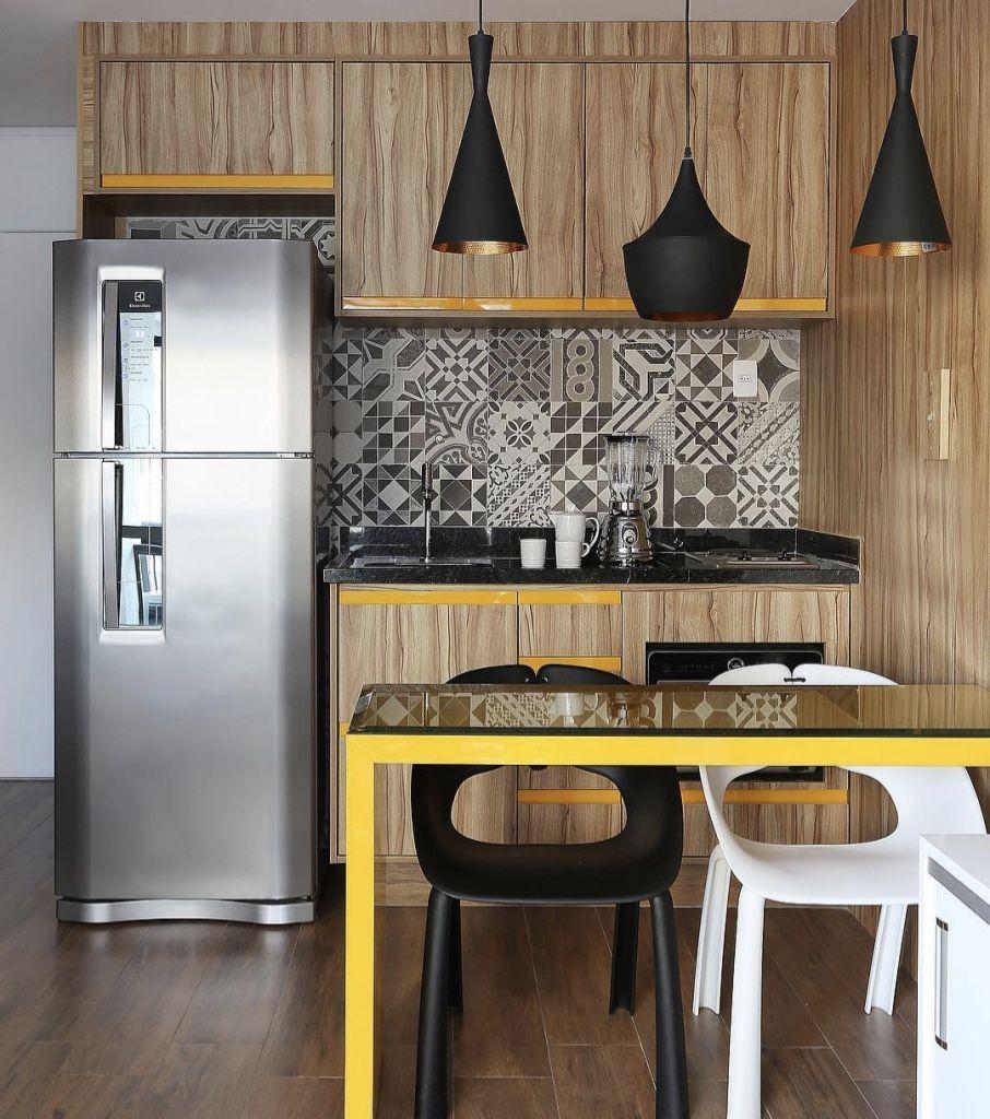 Cozinha americana pequena projetos para se inspirar casa