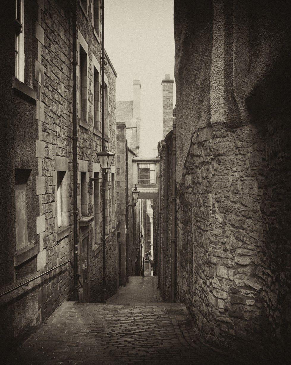 Street close edinburgh scotland taking it to the streets