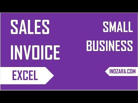 Create An Invoice In Excel Interesting Create Free Sales Invoices In Excel For Your Small Businessinvoice .