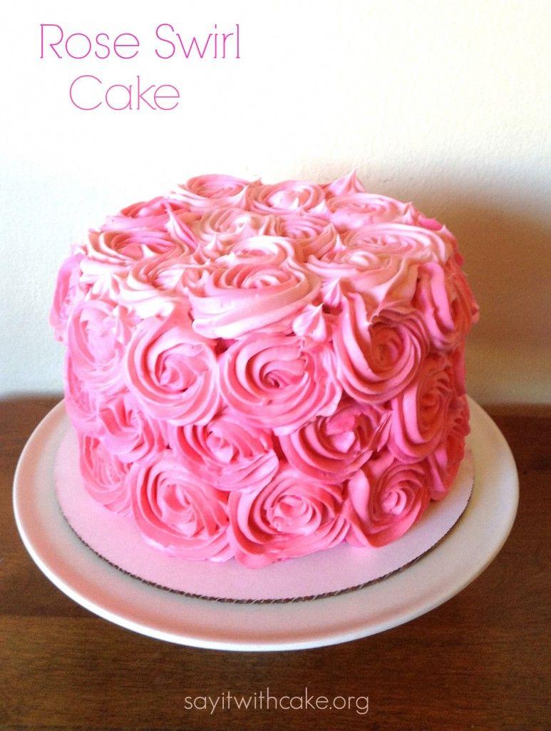 Astonishing Swiss Meringue Buttercream Recipe With Images Rose Swirl Funny Birthday Cards Online Unhofree Goldxyz