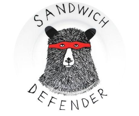 Sandwich Defender Side Plate