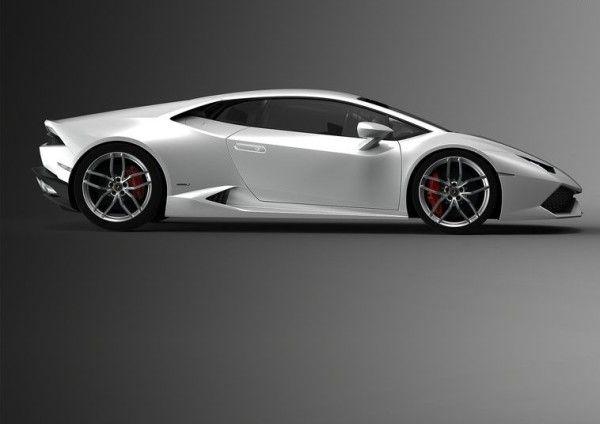 2015 Lamborghini Huracan LP610 4 White Side View 600x424 2015 Lamborghini  Huracan LP610 4 Full Review