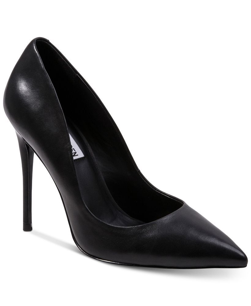 757e6cd9312 Steven By Steve Madden Local Pump Size 9 Black 3-1 2 inch Heel  fashion   clothing  shoes  accessories  womensshoes  heels (ebay link)
