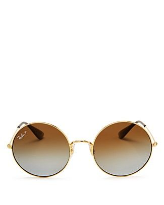 c9a2f8336 Ray-Ban Ja-Jo Polarized Round Sunglasses, 54mm | Fashion Island ...