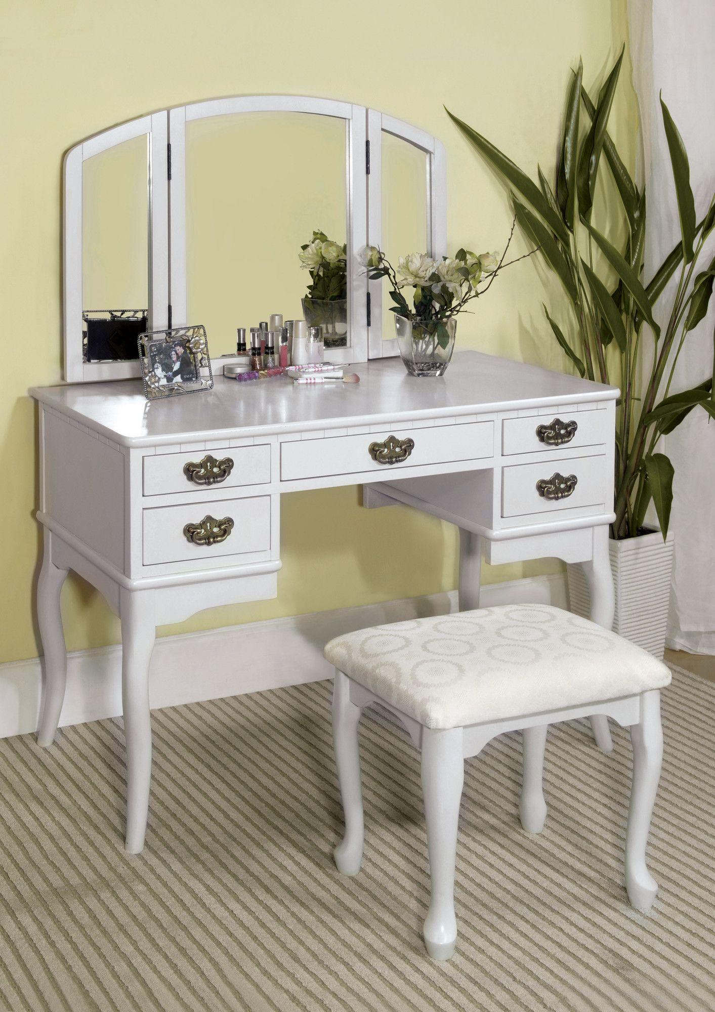 Falconer piece vanity and stool set closets u vanities