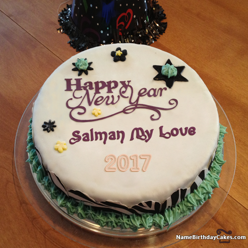 I Have Written Salman My Love Name On Cakes And Wishes On This