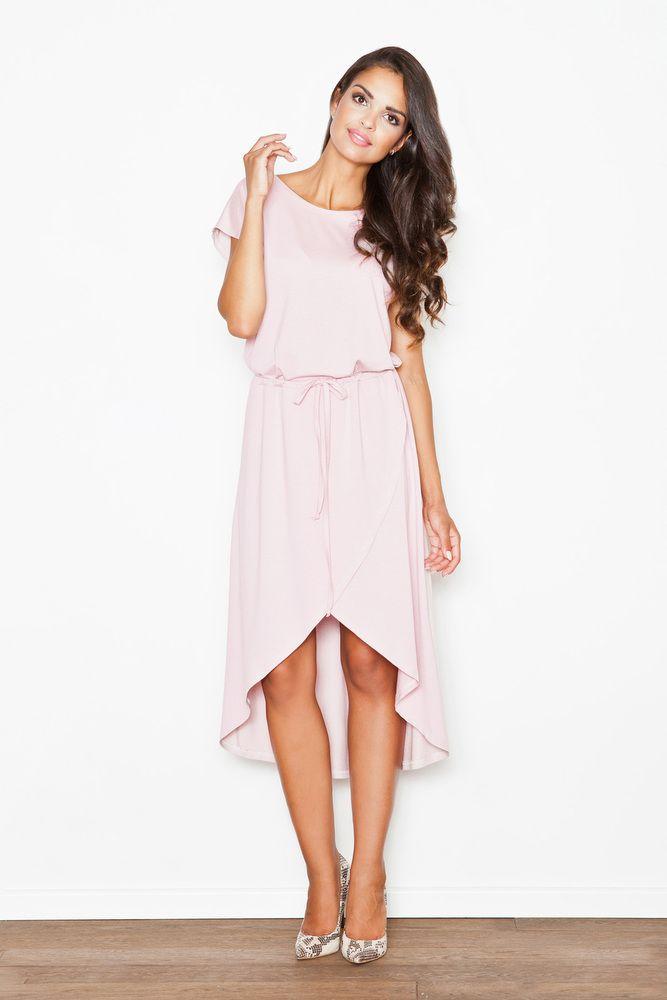 FIGL Damen Kleid Rosa