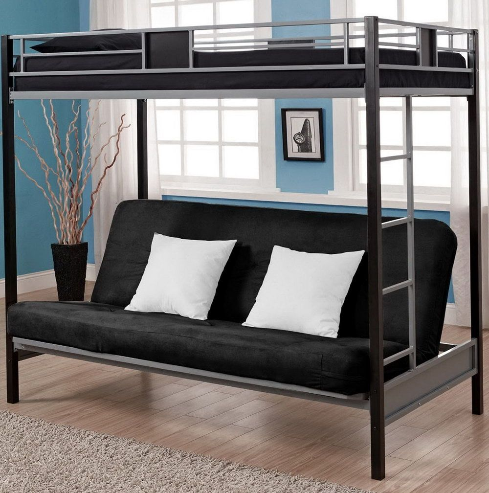 Bunk Bed With Futon Ikea Interior Paint Color Schemes Check More At Http Billiepiperfan Com