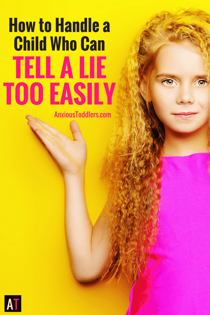 If your child can tell a lie way too easily it is important to nip that behavior in the bud. If not, kids will not only tell more lies, they'll get better.