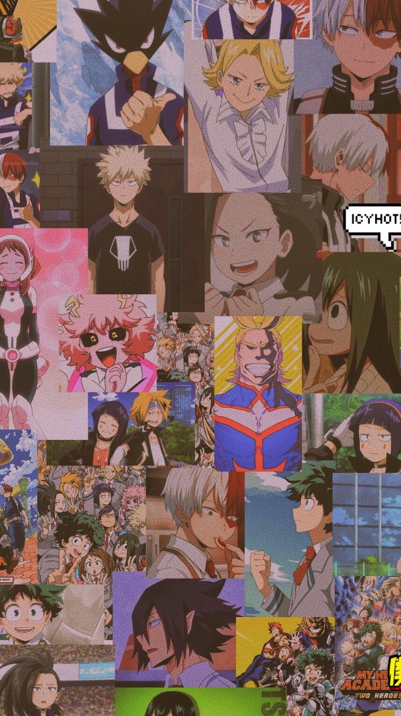 Ios14 Anime App Icons My Hero Academia Aesthetic Iphone Home Etsy In 2021 Anime Wallpaper Phone App Anime Anime