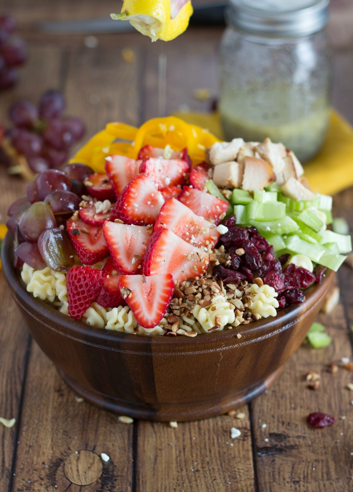 Lemon Poppyseed Strawberry Salad - 12 Fantastic, Flavorful Strawberry Salad Recipes for Spring