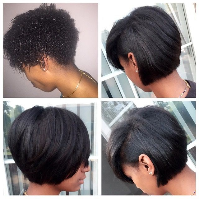 How To Get Short Natural Hair Straight