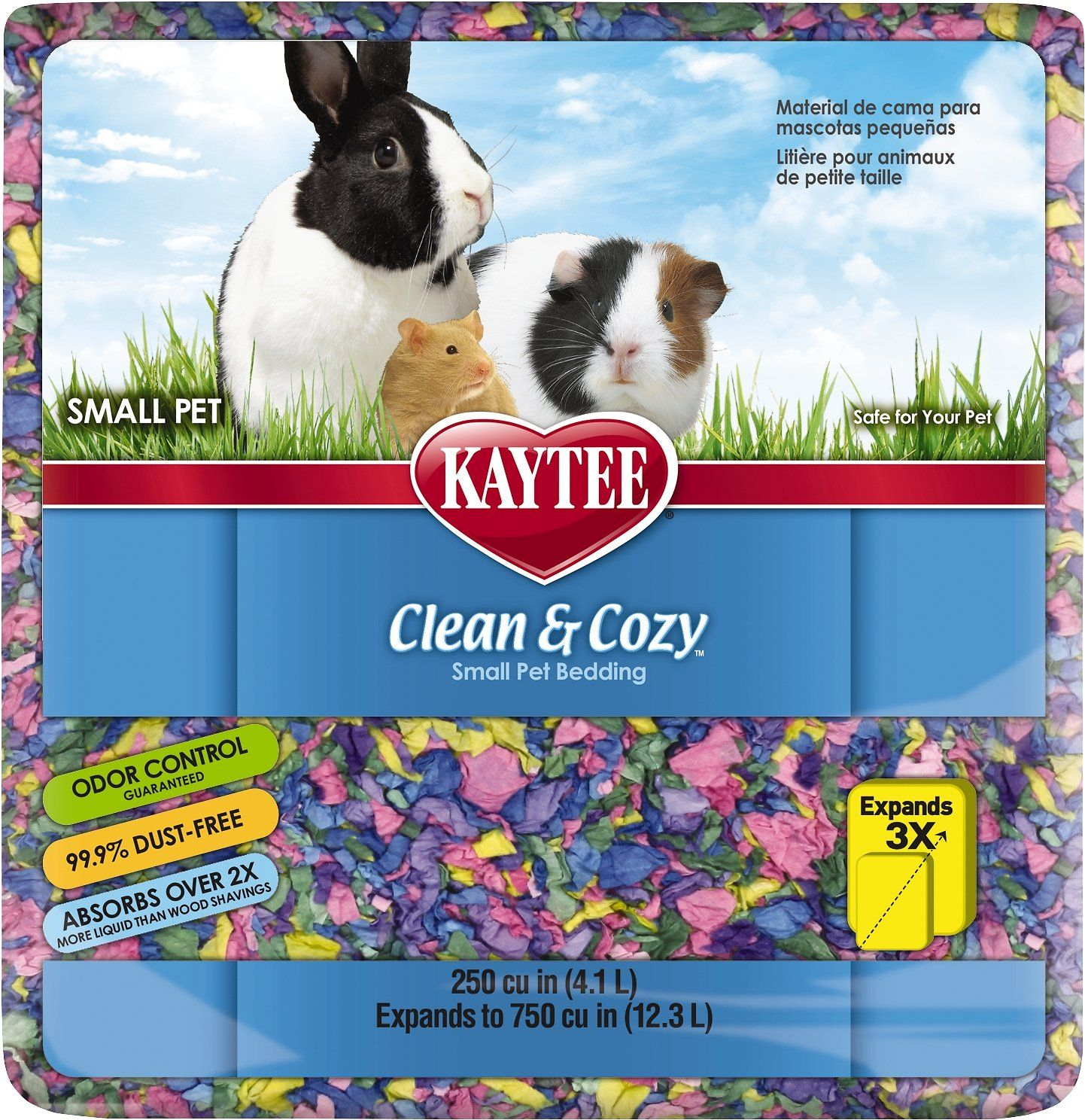 Kaytee Clean and Cozy Small Animal Bedding, Birthday Cake