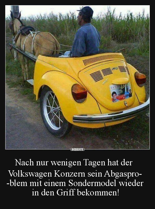 Nach nur wenigen Tagen hat der Volkswagen Konzern ...