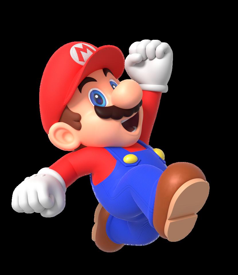 Mario Jump Render By Https Www Deviantart Com Nintega Dario On Deviantart Mario Super Mario Bros Mario Bros