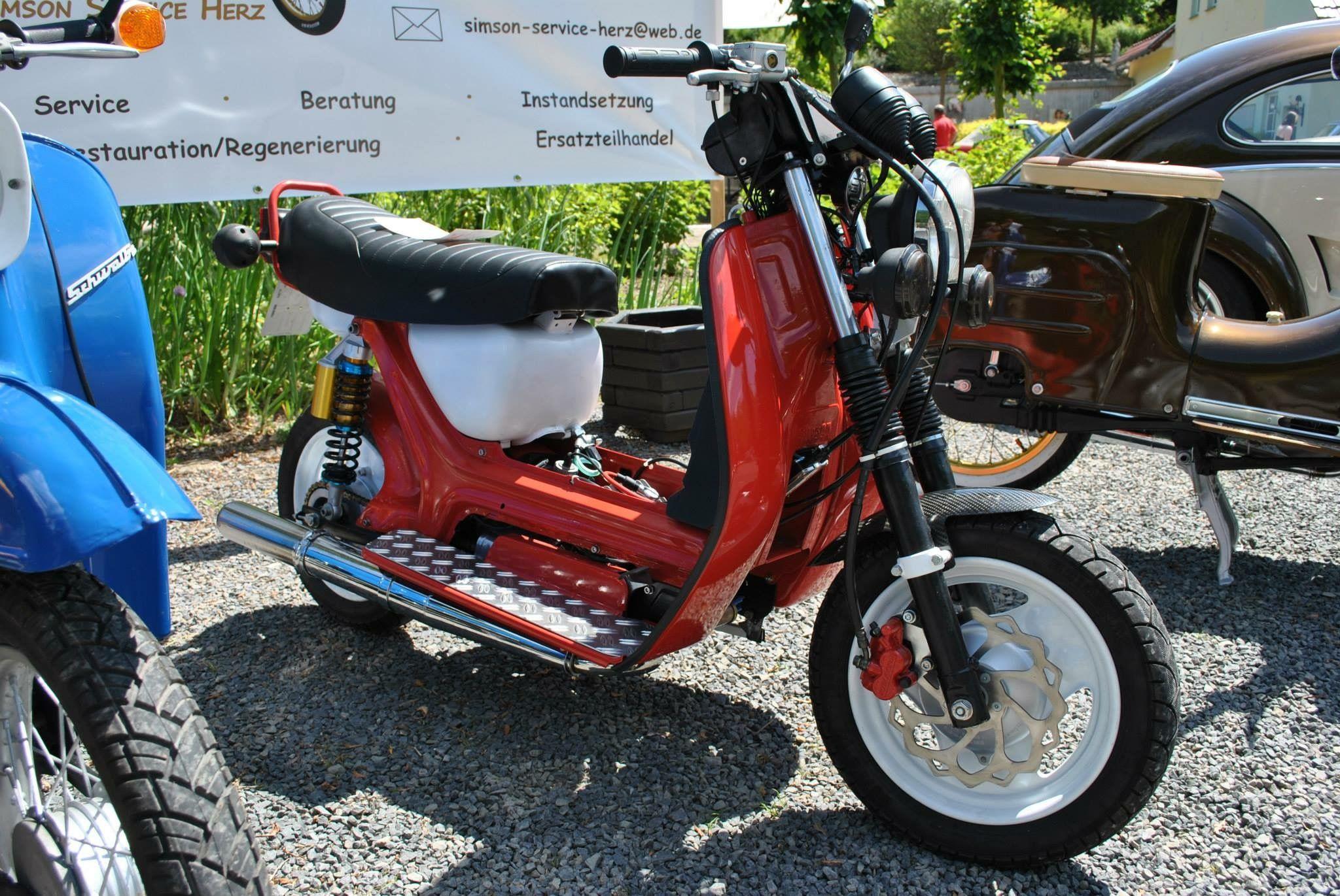 simson sr50 custom motorcycles from th ringen pinterest cars. Black Bedroom Furniture Sets. Home Design Ideas