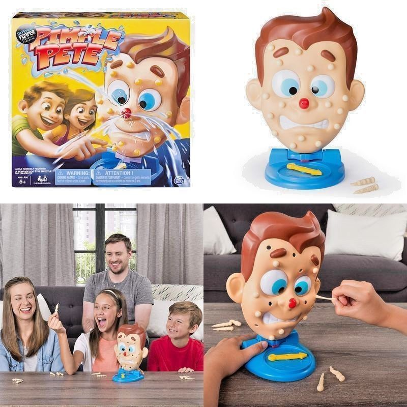 Pimple Pete Presented By Dr Popper Explosive Family For