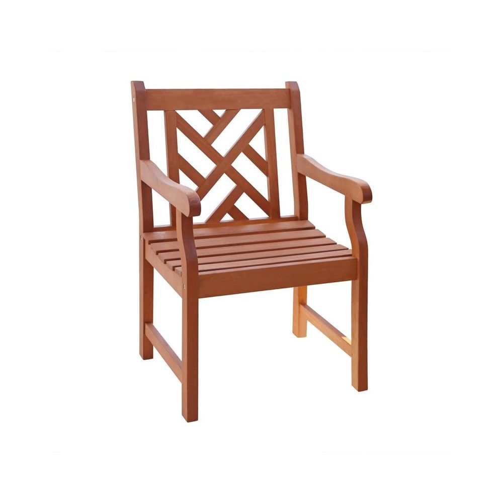 Vifah Patio Furniture.Outdoor Atlantic Armchair Vifah In 2019 Products Wood Patio