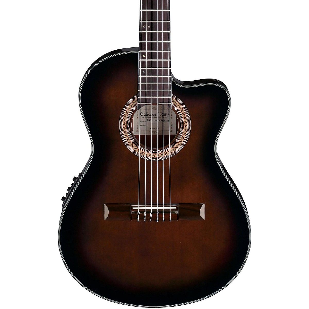 Ibanez Ga35 Thinline Acoustic Electric Classical Guitar Ovation Guitar Guitar Tuners Ibanez Guitars