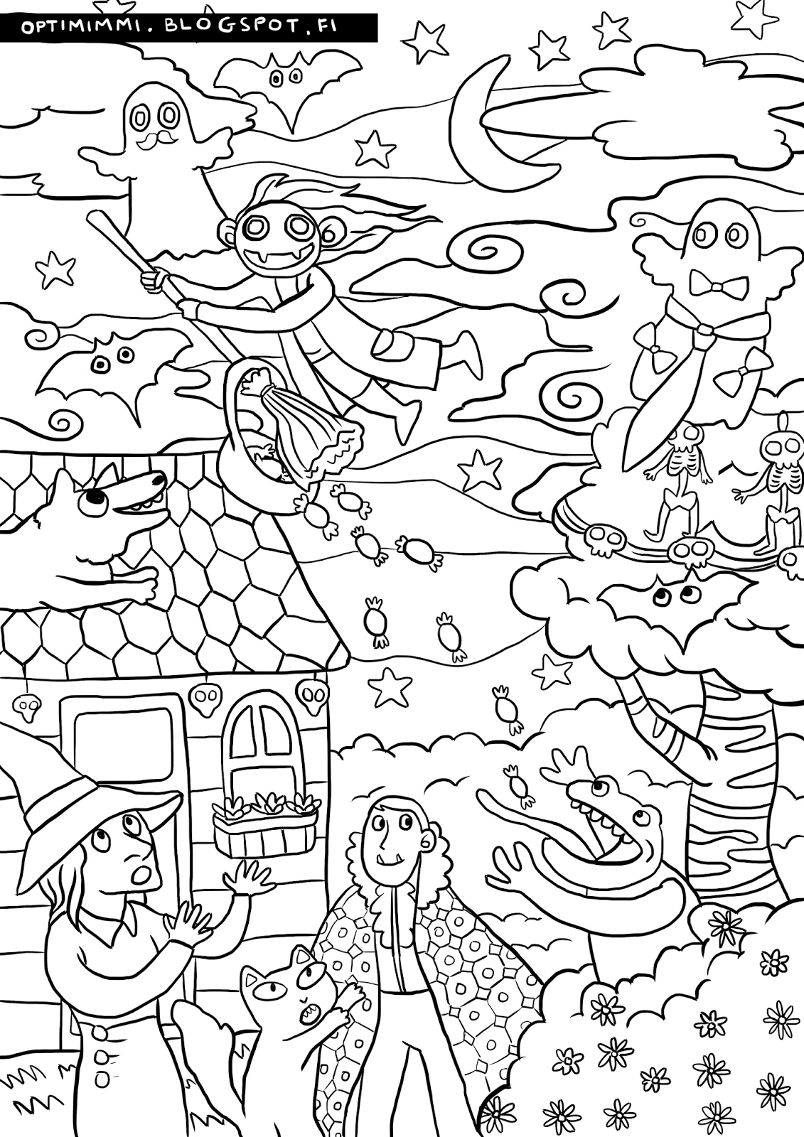 Optimimmi 2016 Coloring Pages 2016 Varityskuvat Coloring Pages Free Coloring Pages Color