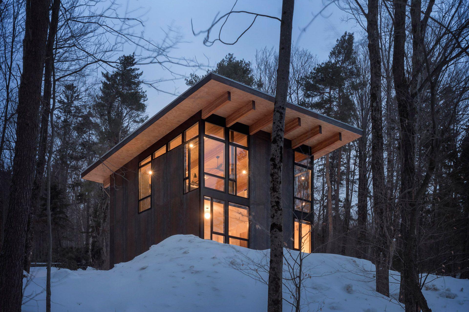 Vermont Cabin In 2020 Cabin Architecture Vermont