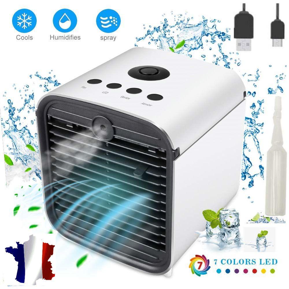 Climatiseur Portable Refroidisseur d/'Air Ventilateur 3 En 1 Air Mini Clim Neuf