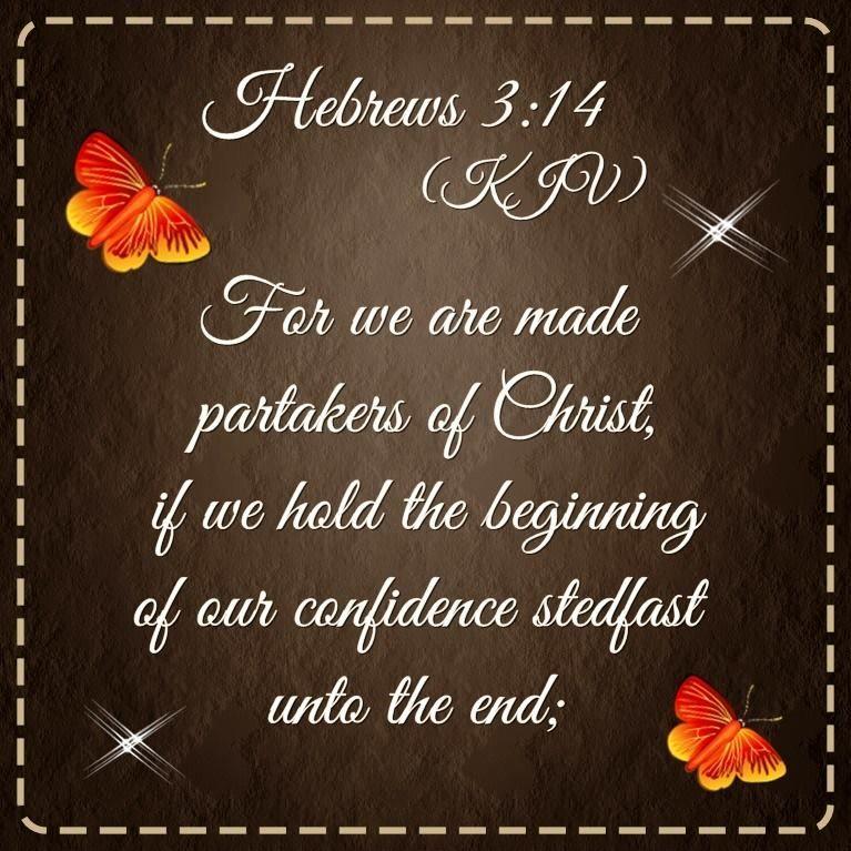 Hebrews 314