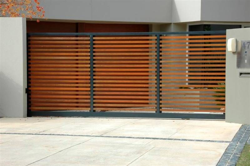 Pin By Patricia Borowicz On Fence And Gate Modern Driveway