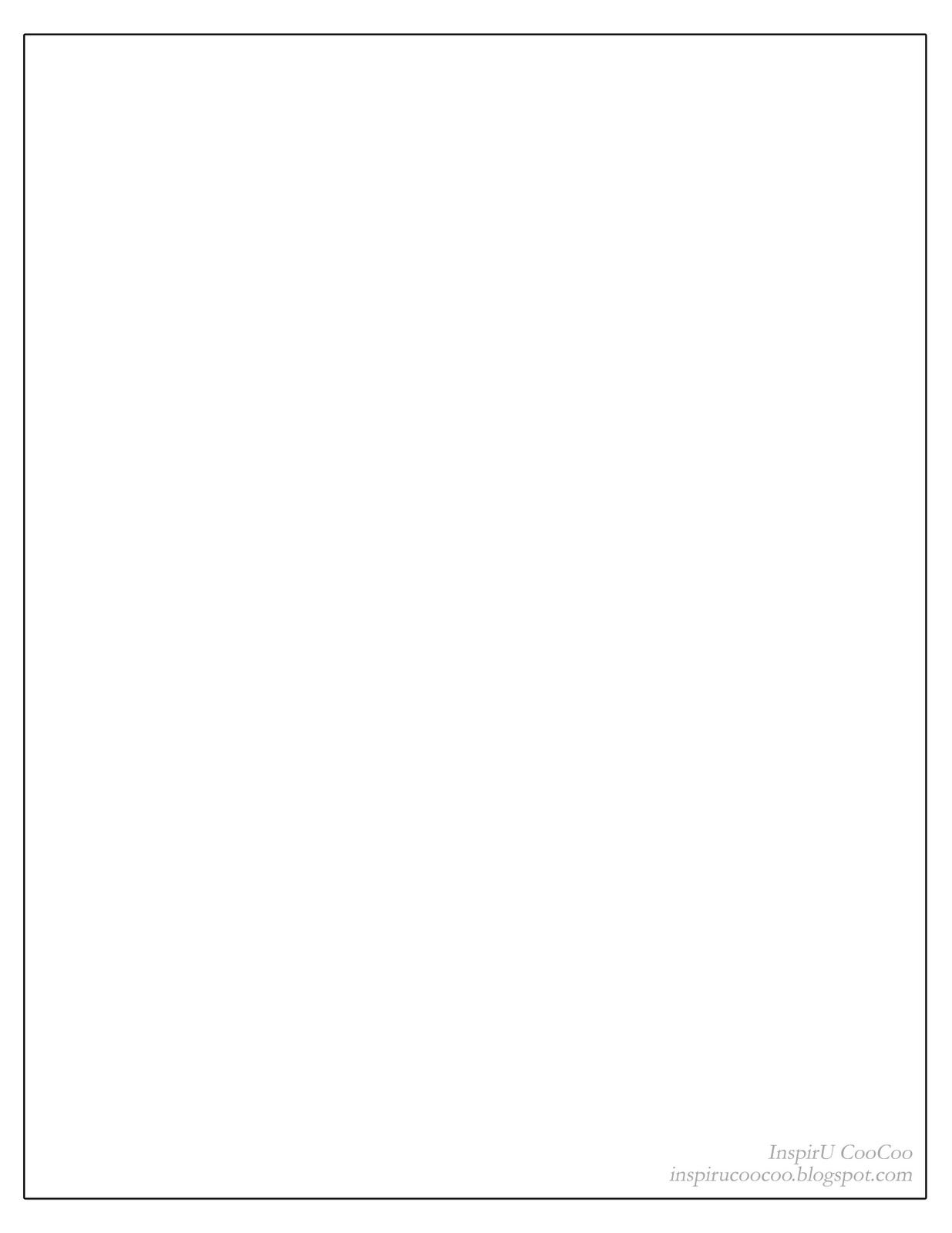 Blank Page To Type Letter