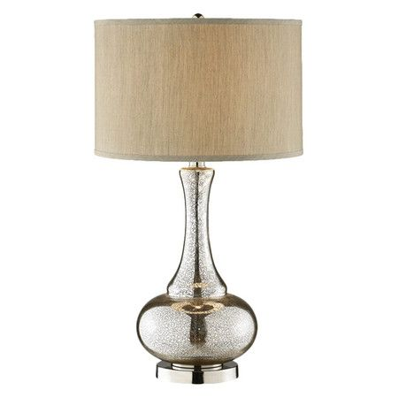 Found It At Wayfair Casual Elegance Glass Gourd Table Lamp In Polished Chrome Glass Table Lamp Chrome Table Lamp Table Lamp