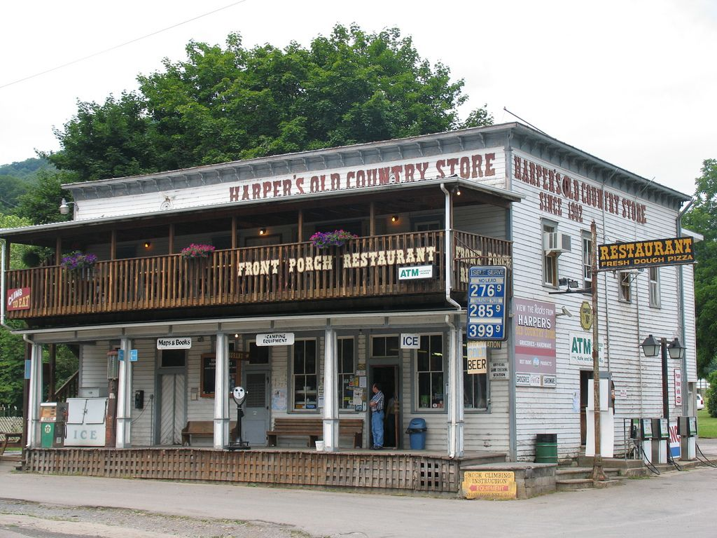 Resturant Stores Harper S Old Country Store Front Porch Restaurant In 2019