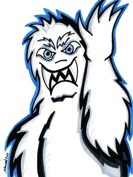 Ahhh Monsters 31 Monsters In 31 Days Day 6 The Abominable Snowman Finding Bigfoot Abominable Snowman Amazing Stories