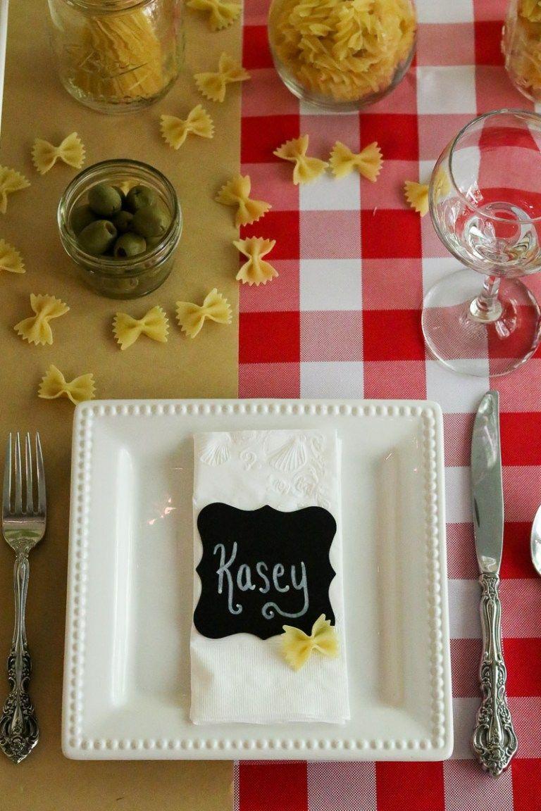 Italian Dinner Party Styling Inspiration Party Ideas Italian