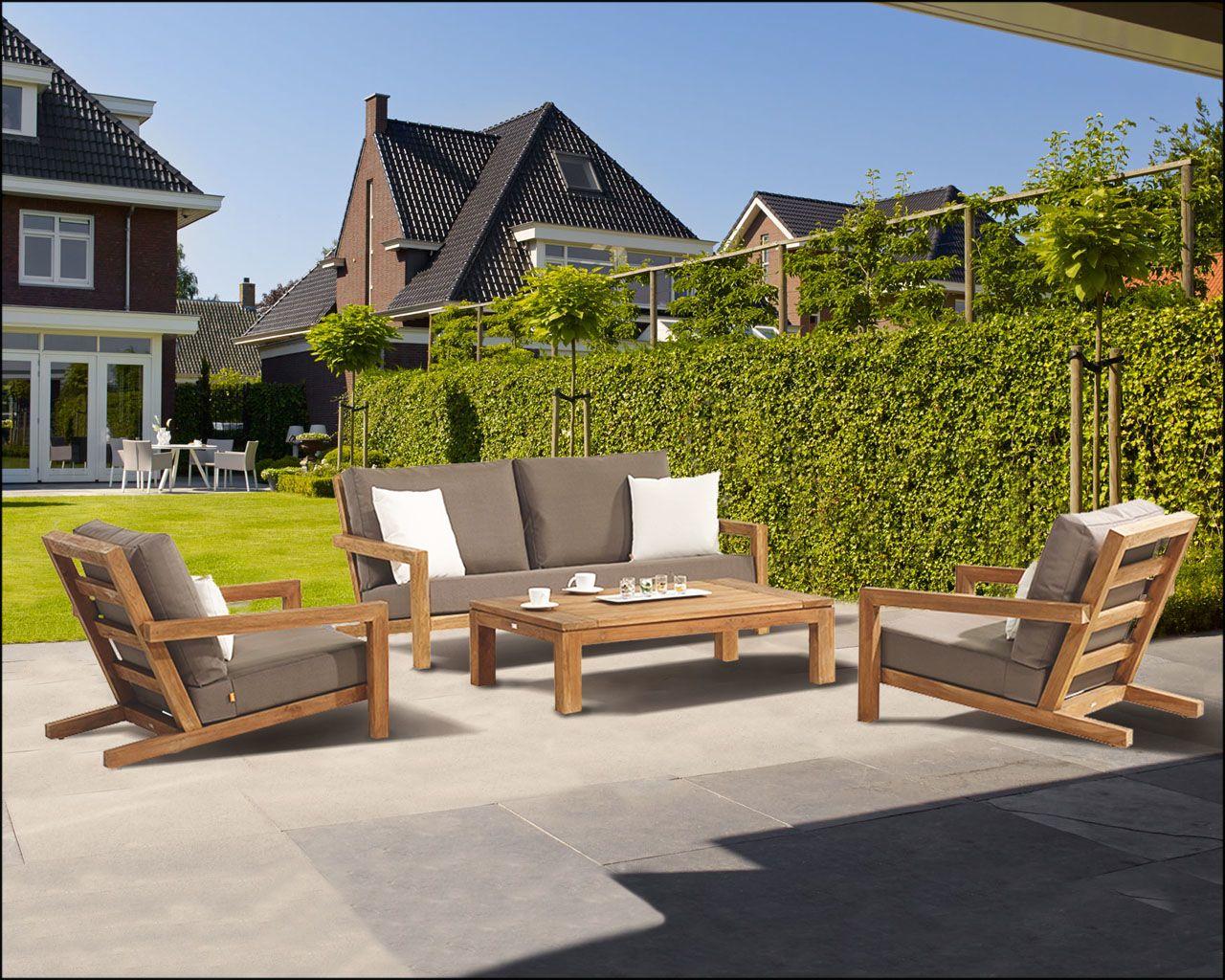 Block Loungeset teak ! | Buitenhof | muebles | Pinterest | House ...