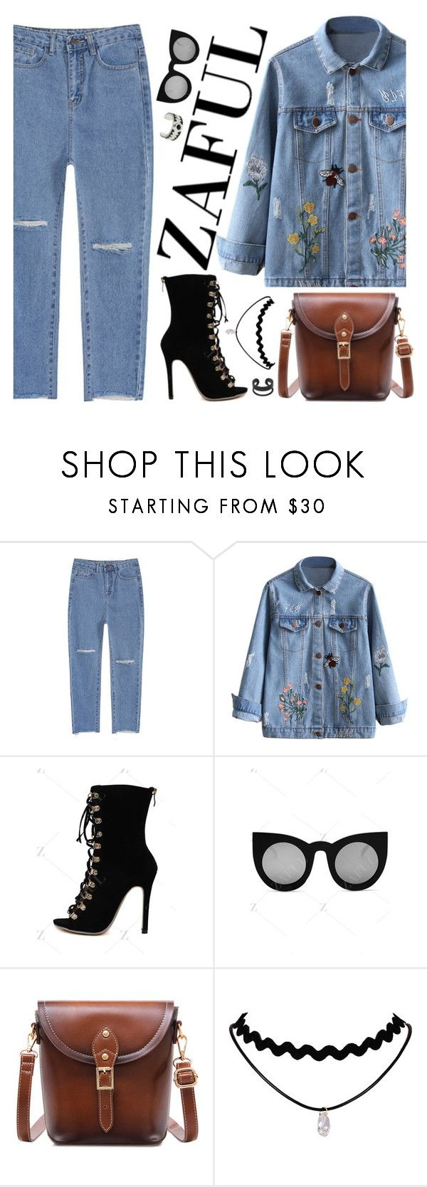 """""""Zaful"""" by lina-horan69 ❤ liked on Polyvore"""