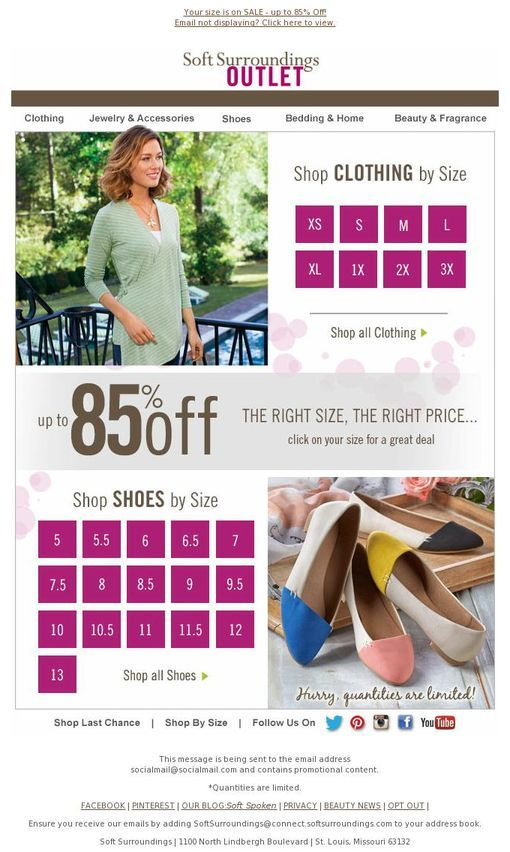 Softsurroundings Coupon Code Soft Surroundings Outlet