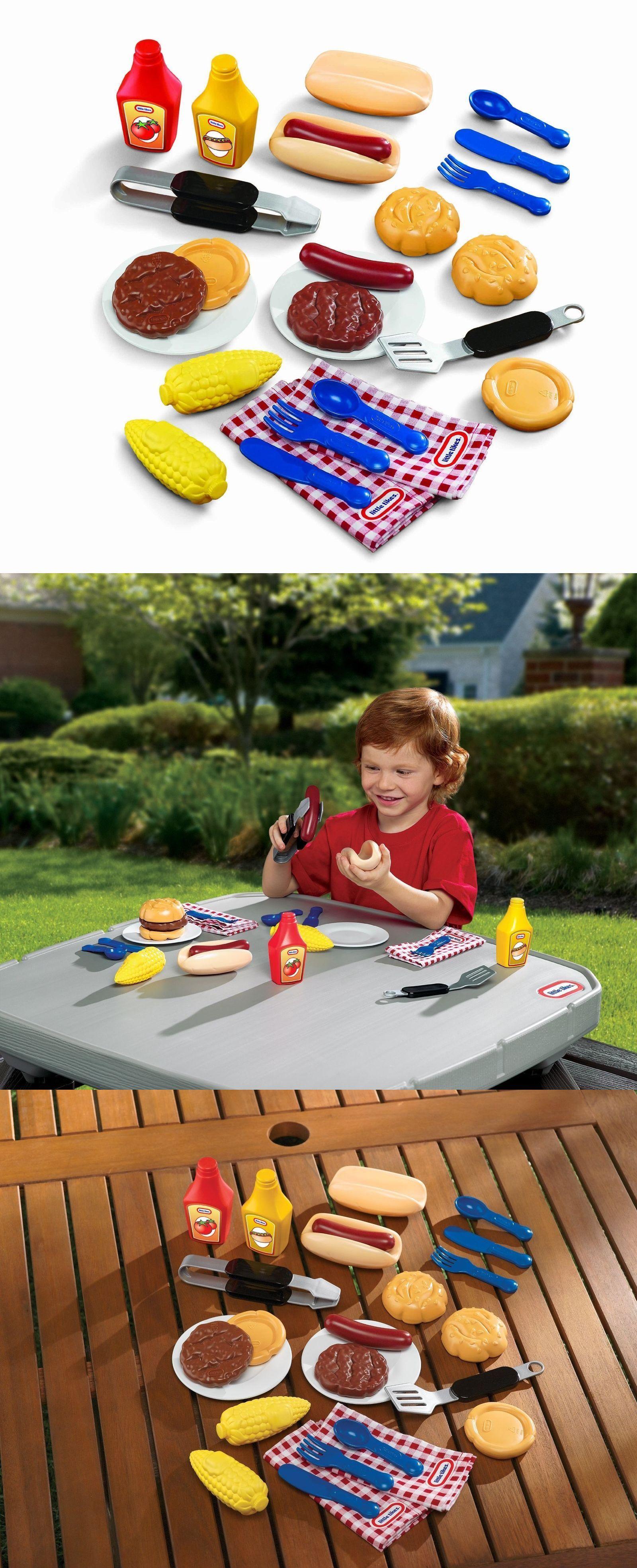 Child Size 2574: Little Tikes Backyard Barbecue Grillin ...