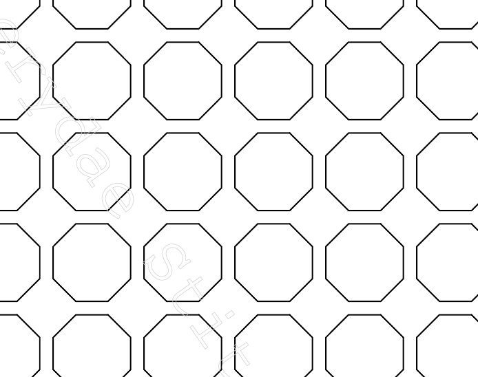 Octagon English Paper Piecing Templates In  Sizes  Quilts  Epp