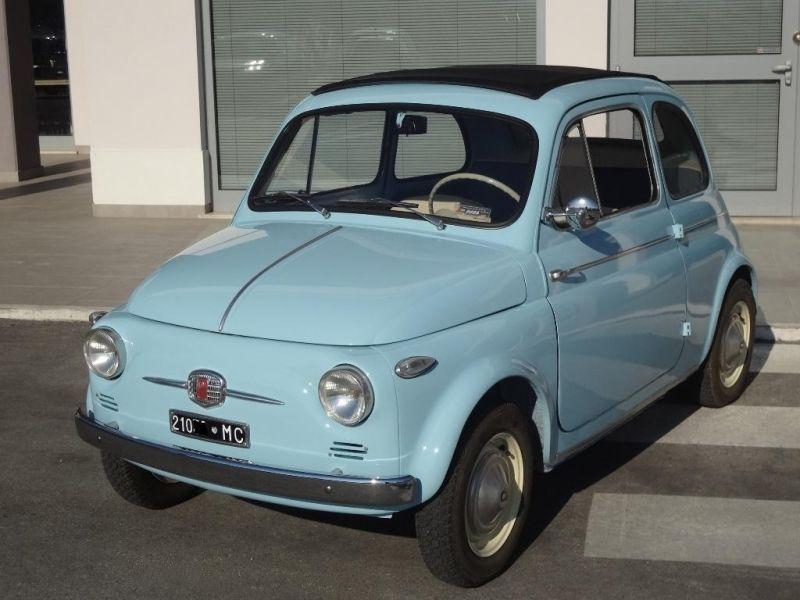 Fiat Nuova 500n E 1957 1958 Con Immagini Fiat 500
