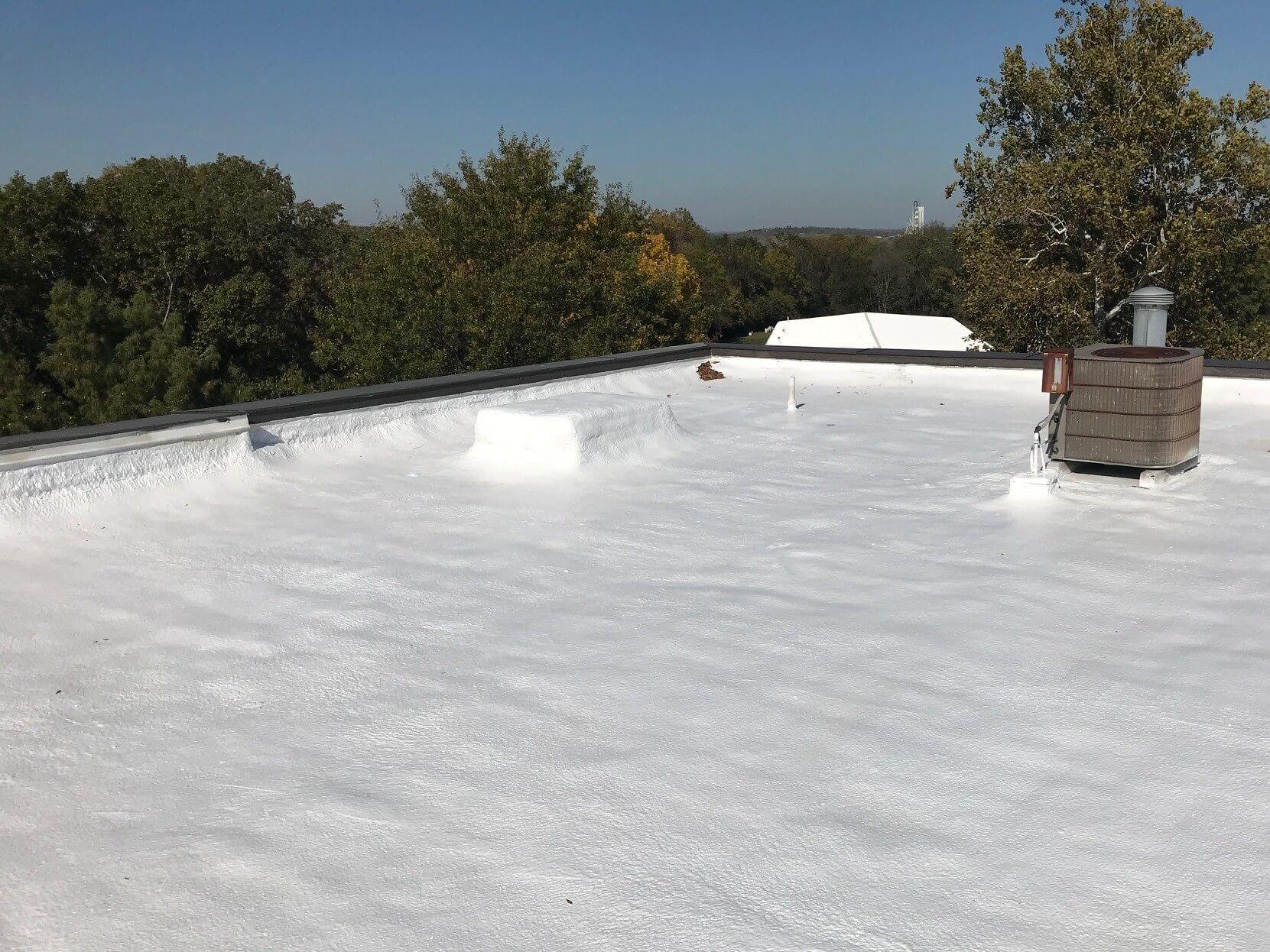 Foam Roof Coating Cost In 2020 Foam Roofing Spray Foam Roofing Polyurethane Spray Foam