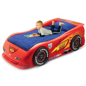 Lightning Mcqueen Sports Car Twin Bed From Littletikes