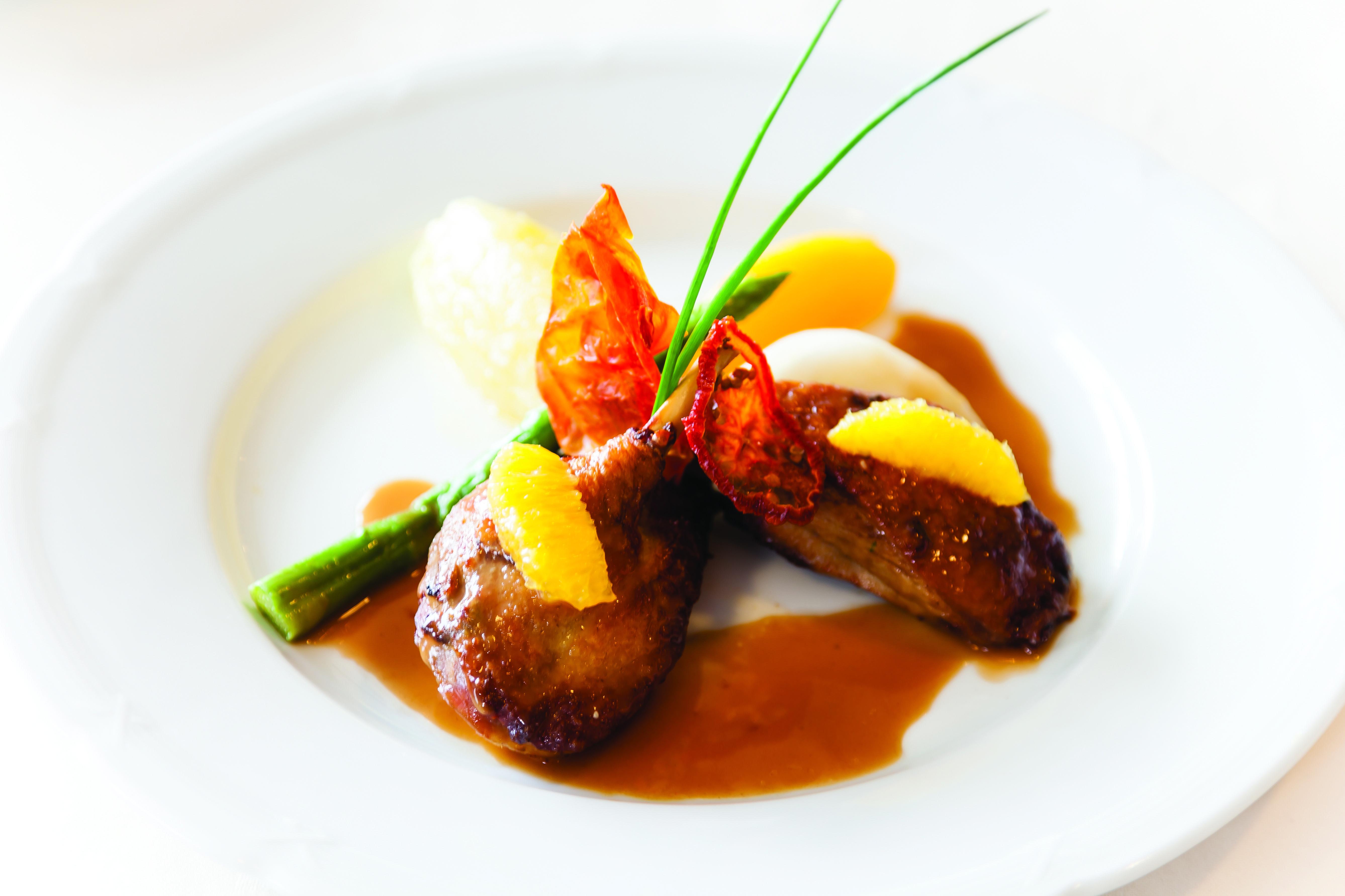 Fine dining on board saga sapphire food cruise classiccruising fine dinning food ocean - Cuisine saga but ...